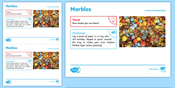 Toys: Marbles KS1 Exploration Sheet - toys, marbles, jacks, spheres, KS1, Imagine (KS1)