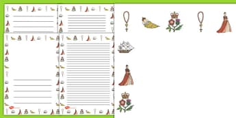 Mary Queen of Scots Page Borders - mary, scots, page borders