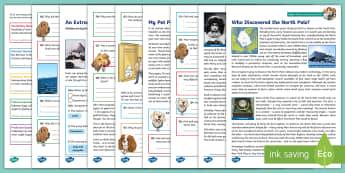 KS2 Polar Regions Focused Reading Skills Comprehension Pack - inference, reading dogs, deduction, reading content domains, SATs,