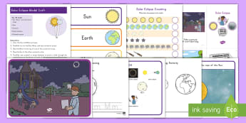 Solar Eclipse Early Childhood Activity Pack - 2017, preschool, activities