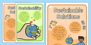 Sustainablity Posters - Sustain, Sustainability, Posters, Design