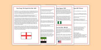 Civil War Case Studies - civil war, case studies, case, studies, war