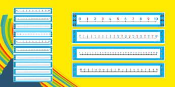 The Olympics Number Lines - the olympics, number lines, rio olympics, 2016 olympics, rio 2016