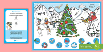 The Snowman Can you Find...? Poster and Prompt Card Pack - The Snowman, Raymond Briggs, Christmas, winter, snow, snowmen, snowman, Santa, Father Christmas, can