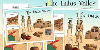 The Indus Valley Large Display Poster - bronze age, history