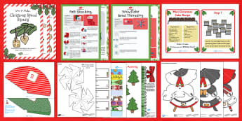 Winter Crafts Resource Pack - Craft Ideas, Winter, Elderly Care, Care Homes, Ideas, Activity Co-ordinators, Support,