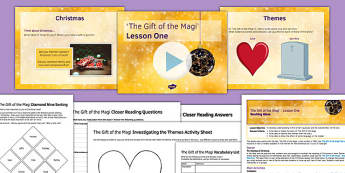 The Gift of the Magi Lesson One Pack - gift of the magi, lesson one, pack, ks3, secondary, christmas