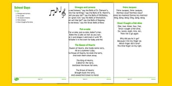Elderly Care Life History Book School Days Songs - Elderly, Reminiscence, Care Homes, Life History Books