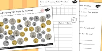 Coins in Piggy Bank Worksheets - australia, coins, piggy, bank
