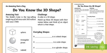 2 And 3 Digit Addition Worksheets Word D Shape Games  Activities Primary Resources  Games  Page  Second Grade Math Worksheets Excel with Business Income And Expense Worksheet Excel Do You Know The D Shape Activity Sheet Graph Analysis Worksheet Excel