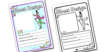 Willy Wonka Sweet Design Template - design template, willy wonka, sweet design template, design, story book, willy wonka sweet design, template, sweet