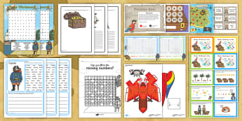 KS1 Talk Like a Pirate Day Activity Pack - Resource Pack, Pirate Ship, Plank, Captain, Lessons