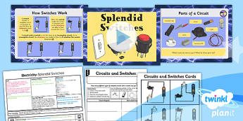 Science: Electricity: Splendid Switches Year 4 Lesson Pack 5