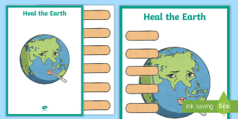 earth Day, conservation, conserve, reduce, reuse, recycle, heal the earth, bandaid, band aid, band-a - Earth Day, conservation, conserve, reduce, reuse, recycle, heal the earth, bandaid, band aid, band-a