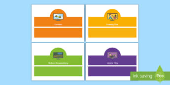 Television Programme Headband Oral Language Game - Oral Language, Television, T.V. Programmes, programs, Headband Game, Questions, Answers,Irish