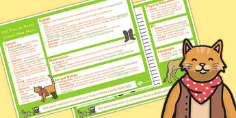 Puss in Boots KS1 Lesson Plan Ideas - lesson plan, ideas, ks1