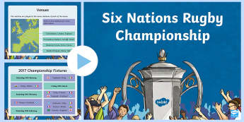 Six Nations Rugby Championship PowerPoint-Scottish - CfE, calendar events, Scotland, Scottish, traditions, history, celebrations, six nations, 6 nations,
