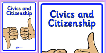 Curriculum Civics and Citizenship Book Cover - book cover, front page, title page, civics, citizenship, Australian Curriculum, labels, Australia