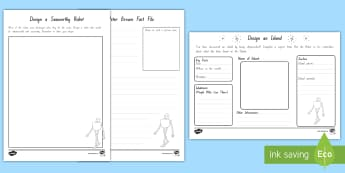 Year 3 and 4 Chapter Chat Week 1 Resource Pack to Support Teaching On The Wild Robot by Peter Brown - chapter chat, reading, literacy, year 3, year 4, the wild robot, peter brown