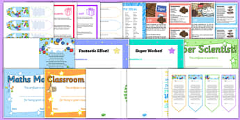 End of the School Year Gifts and Awards Resource Pack