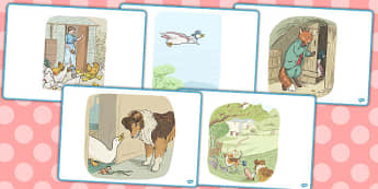 The Tale of Jemima Puddle Duck Short Story Sequencing - jemima puddle-duck