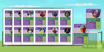 Wimbledon Players Top Cards - Tennis, statistics, information, game, men's Tennis, Women's Tennis