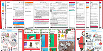 EYFS Christmas Themed Adult Input Planning and Resource Pack - eyfs, christmas, planning, pack