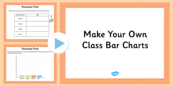 Make Your Own Class Bar Charts Editable Presentation - make, own, class, bar charts, editable, presentation, powerpoint