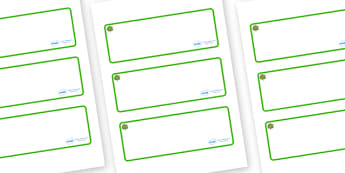 Walnut Tree Themed Editable Drawer-Peg-Name Labels (Blank) - Themed Classroom Label Templates, Resource Labels, Name Labels, Editable Labels, Drawer Labels, Coat Peg Labels, Peg Label, KS1 Labels, Foundation Labels, Foundation Stage Labels, Teaching