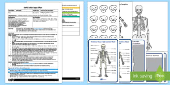EYFS Build Your Own Funny Bones Adult Input Plan and Resource Pack