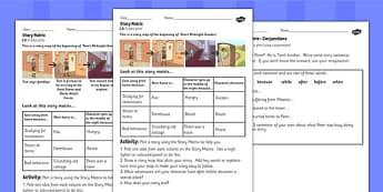 Toms Midnight Garden Story Matrix Worksheets - worksheet, garden