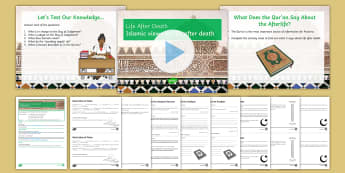 Life After Death In Islam Lesson Pack -  Life after death; Islam; Akhirah