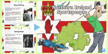 Sporting Heroes of Northern Ireland PowerPoint - NI Sporting Heroes of Northern Ireland