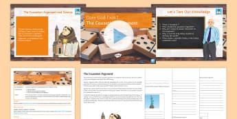 The Causation Argument Lesson Pack - God; Causation Argument; Aquinas