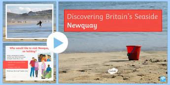 Newquay PowerPoint - Coasts, management, erosion, transportation, deposition, waves, tourism