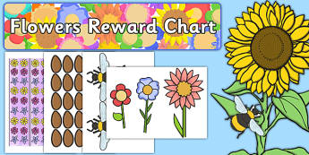 Flowers Reward Display Pack - flowers, reward, display pack