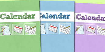 A4 Calendar Divider Covers-calendar, diver covers, divider covers, A4, months, years, A4 divider covers, dates on the calendar