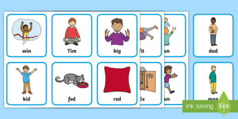 Father's Day CVC Word Cards - Father's Day, CVC, Word cards, Foundation, Yr 1, topic,