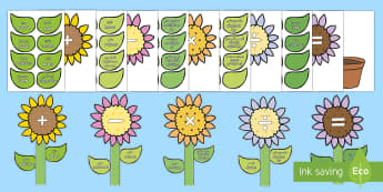 Maths Vocabulary Flower Display Pack Arabic/English - Maths Vocabulary Flower Display Pack - maths, vocabulary, flower, display, maths vocabularly, matsh,