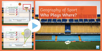 Who Plays Where Quiz? PowerPoint - Shadow of Stadium, economy, impacts, environment, social, planning, expansion, stadium, decision mak