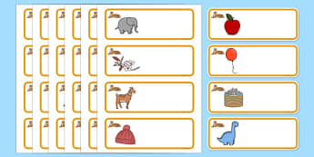Tiger Themed Editable Drawer-Peg-Name Labels - Themed Classroom Label Templates, Resource Labels, Name Labels, Editable Labels, Drawer Labels, Coat Peg Labels, Peg Label, KS1 Labels, Foundation Labels, Foundation Stage Labels, Teaching Labels