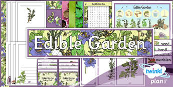 PlanIt - DT LKS2 - Edible Garden Unit Additional Resources