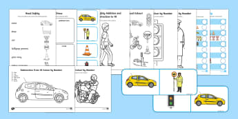KS1 Road Safety  Activity Pack