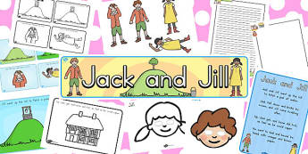 Jack and Jill Resource Pack - australia, jack, jill, resources