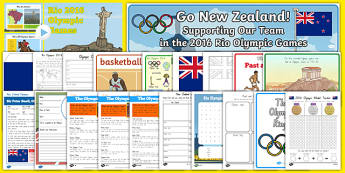 New Zealand Rio 2016 Olympics Resource Pack