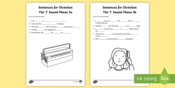 Northern Ireland Linguistic Phonics Stage 5 and 6, Phase 3a and 3b, 't' Dictation Sentences Activity - Linguistic Phonics, Stage 5, Stage 6, Phase 3a, Phase 3b, Northern Ireland, sentences, dictation, wo