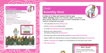 Diwali Assembly Ideas