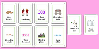 Three Syllable THR Flash Cards - speech sounds, phonology, articulation, speech therapy, cluster reduction
