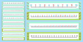 A Special Outing Number Lines Pack up to 30 - a special outing, my gumpy's outing, number lines, pack, 30