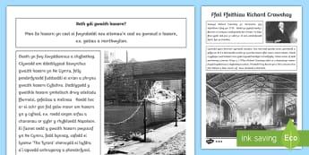 Ffeil Ffeithiau Richard Crawshay - ironworks, gwaith haearn, De Cymru, South Wales, Lundain, London, business man, dyn busnes.,Welsh-tr